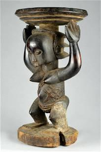 LUBA Shankadi cariatid stool cubist tabouret Congo