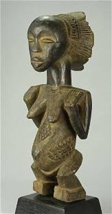 Large LUBA Classical Cult Figure Statue Congo DRC