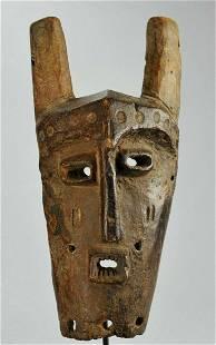 LEGA - KWAME rare Kayamba wood Mask Congo African