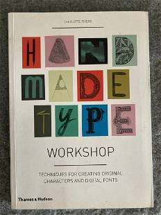 HANDMADE TYPE WORKSHOP:Techniuques for Creating