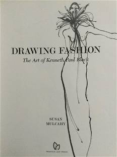 DRAWING FASHION:THE ART OF KENNETH PAUL BLOCK