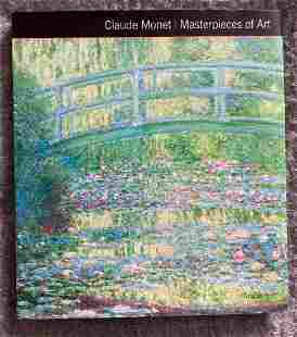 CLAUDE MONET:MASTERPIECES OF ART
