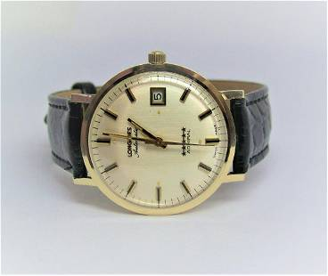Vintage 14k LONGINES 5 Star Admiral Automatic DATE