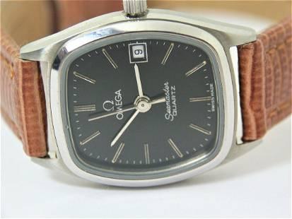 Ladies S/Steel OMEGA SEAMASTER Quartz Watch c.1980s