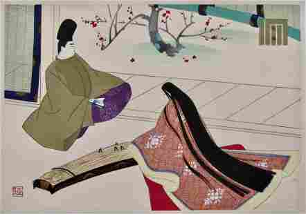 Masao Ebina: Genji Ch. 43, Obai