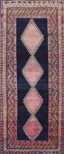 Vintage Lori Persian Runner Rug 4x10