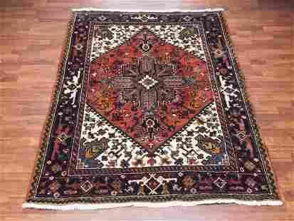 Semi Antique Persian Heriz
