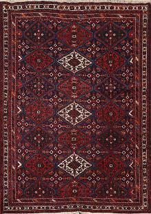Antique Vegetable Dye Joshaghan Persian Rug 5x6