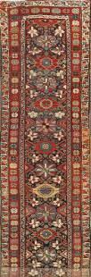Vintage Vegetable Dye Heriz Bakhshayesh Persian Rug