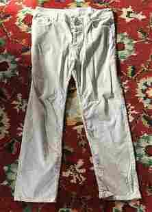Helmut Lang Beige Corduroy Pants Size Medium