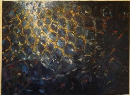 Dome, oil painting, 5' x 6'