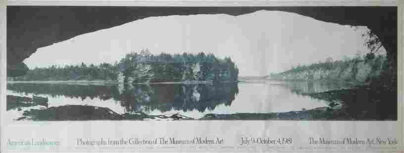 H.H. Bennett. Panorama from the overhanging Cliff,