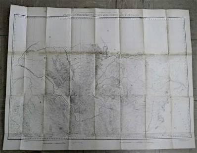 Part of Western Wyoming and Southeastern Idaho Surveyed