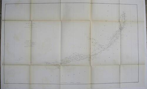 Sketch F. Showing the Progress of the Survey in Section