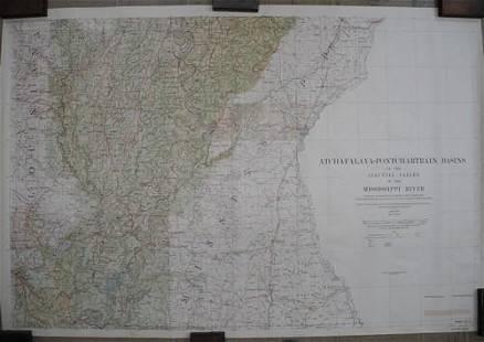 Atchafalaya-Pontchartrain Basins of the Alluvial Valley