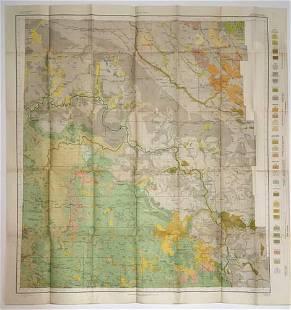 Soil Map Reconnaissance survey western North Dakota