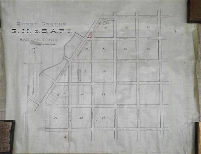 Depot Ground G.H. & S.A. Ry. San Antonio