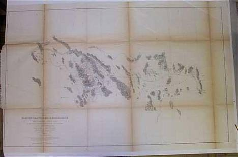 Map No. 2 from the Pimas Villages to Fort Fillmore...