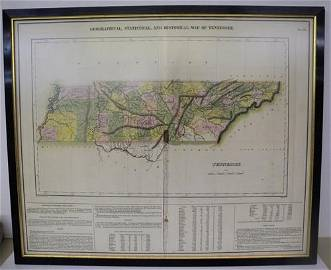 Geographical, Statistical, and historical map of