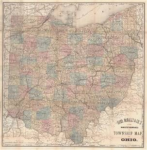 Rand, McNally & Co.'S New Sectional And Township Map of