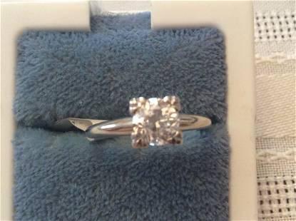 14k Diamond Engagement Diamond Ring