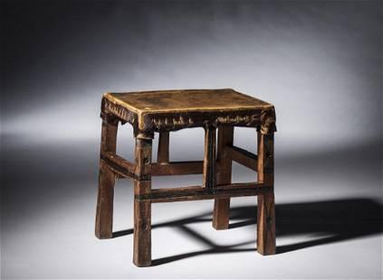 Tchokwe stool, Angola