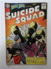 Brave and the Bold #25 first appearance of the Suicide