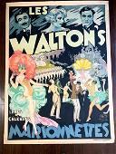 Les Walton's Marionnettes - Art by Emile Finot (1930)