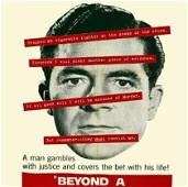"""Beyond a Reasonable Doubt (Italy, 1956) 55.25"""" x 78.5"""""""