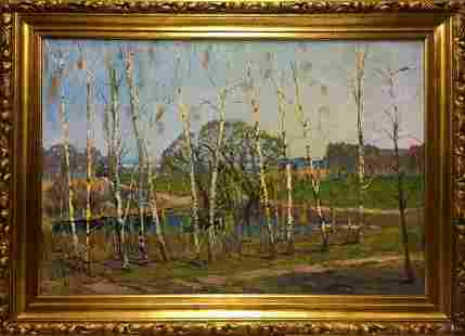 Oil painting Cable Pyotr Ivanovich Lvov