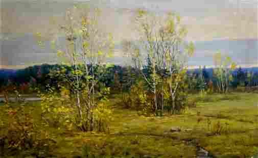 Oil painting Landscape Gavrilov V.N.