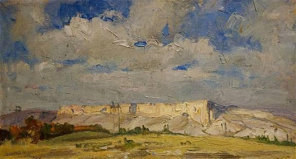 Oil painting Landscape Pozdeev Sergey