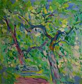 Oil painting Garden Matyushenko Victor Ivanovich
