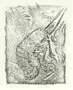 "Pablo Picasso ""La Langouste"" The Lobster | Buffon"