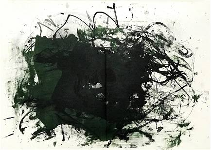 Joan Mitchell original lithograph