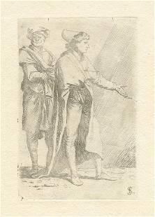 Salvator Rosa etching