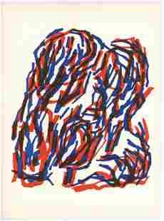 Raoul Ubac original lithograph, 1964