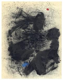 """Joan Miro """"La baigneuse de Calamayor"""" pochoir 1961"""