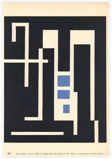 Mauro Reggiani original xylograph | Arte Croncreta