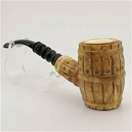 Wine Barrel,Meerschaum Pipe