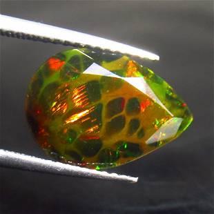 3.11 Ct Natural Black Fire Opal