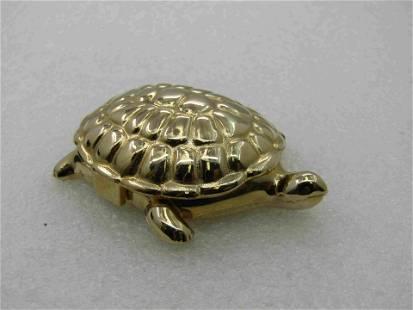 Vintage Avon Turtle Candid Perfume Compact,