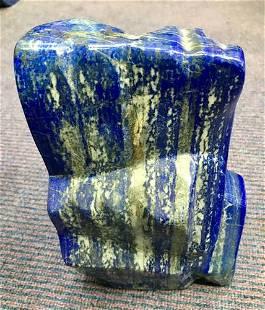 AAA Quality Blue Lapis Lazuli Tumble @Afg, 7800 Gram