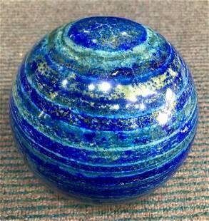 Polished Blue Lapis Lazuli Sphere @Afg, 6400 Gram