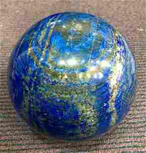 Polished Blue Lapis Lazuli Sphere @Afg, 7900 Gram