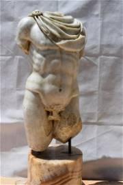 Marble torso, 19th century Cm.100