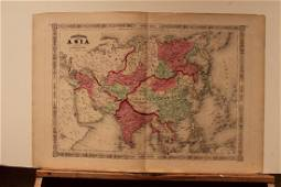 1867 Asia Map