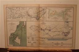 1893 North Carolina Civil War Map