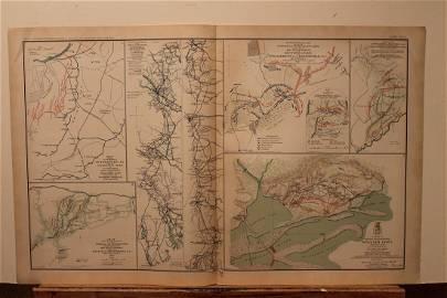 1893 Alabama Civil War Map