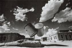 IKKO - Two Garbage Cans, Indian Village, New Mexico